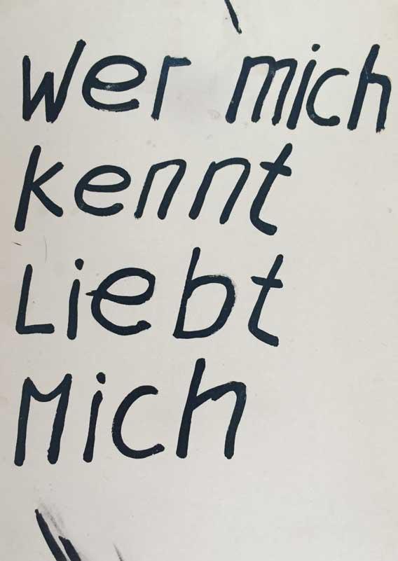 Emil Manser Postkarte Liebe